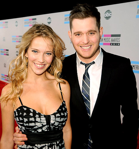 1359048670 michael buble luisana lopiloto article Photos of Michael Bubles Wife