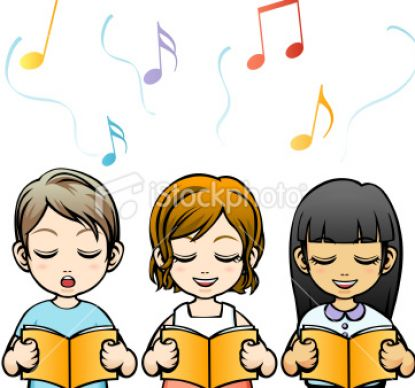 cartoon pictures of children singing 2 Free Picture of Children Singing