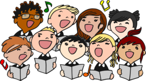 children singing md Child Singing Clip Art